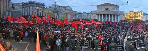 7 ноября 2011 г., Москва. Этого вам не показали по ТВ.