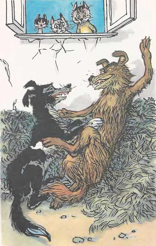 Басни о собаках с картинками