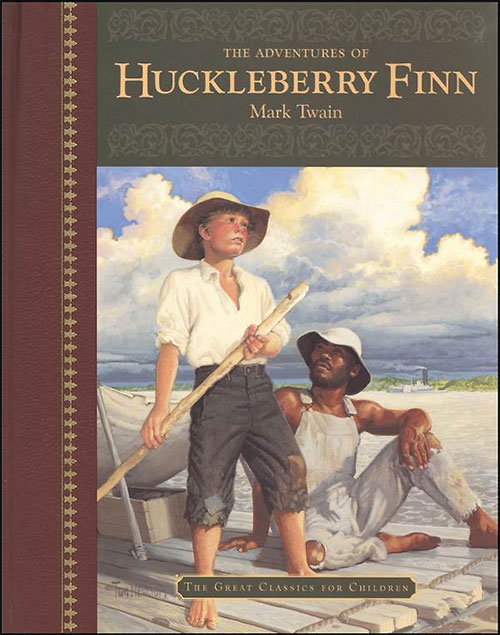a comparison of the novel and film the adventure of huckleberry finn by mark twain